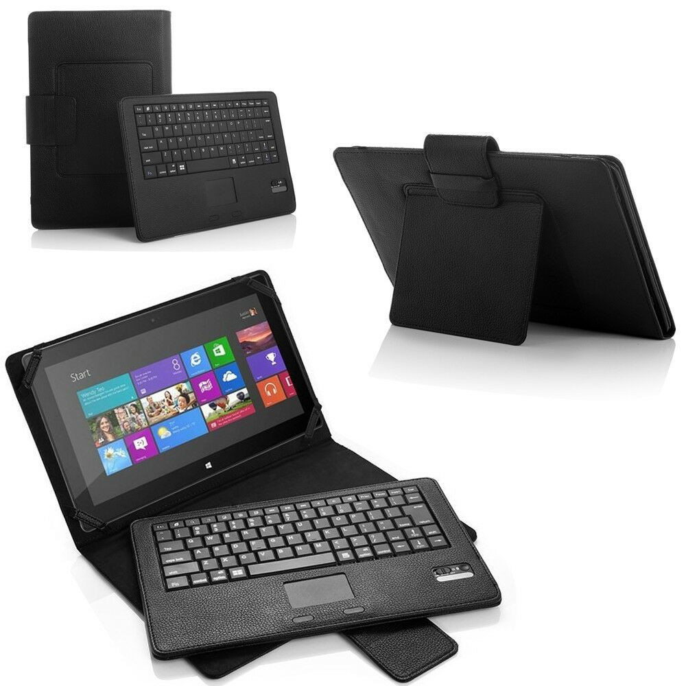 Wireless Bluetooth Keyboard Case Stand For Microsoft Surface 2 Surface RT 10.6""