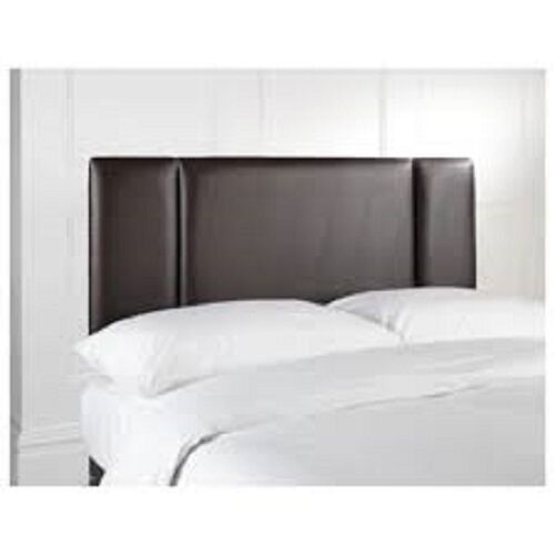 Bed head faux leather headboard all sizes 3ft single 4ft6 - All in one double bed ...