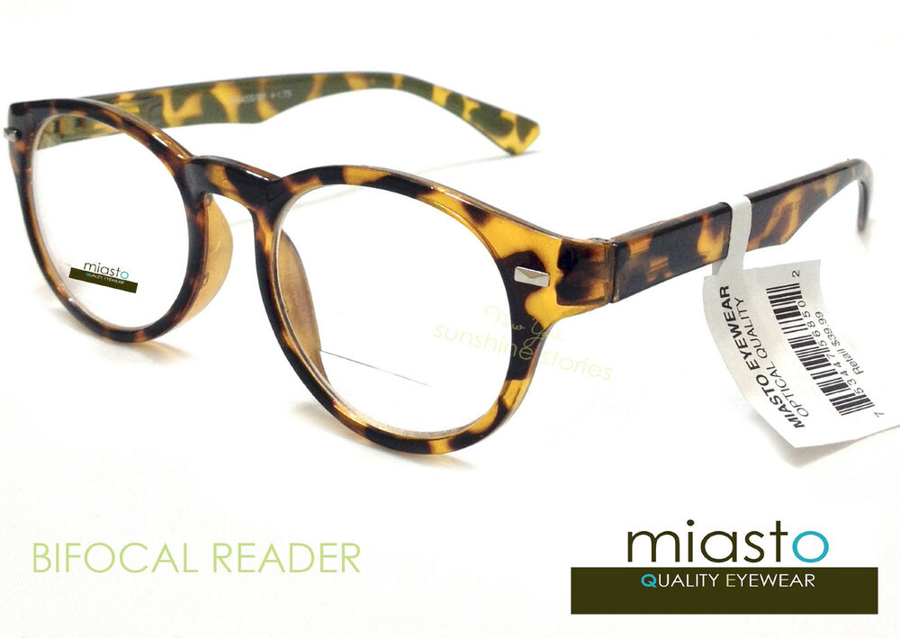 lot of 2 miasto bifocal clear reader reading