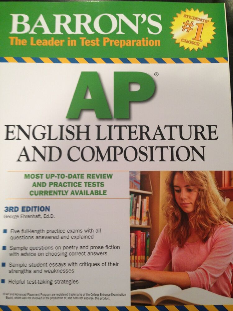 Barron S AP English Literature And Composition 3rd Edition By George Ehrenhaft 9780764146961 EBay