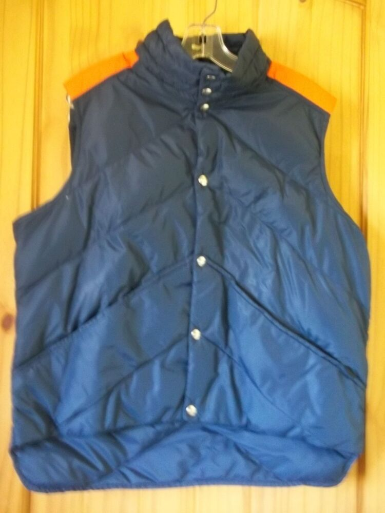 Mens Puffy Down Vest 39
