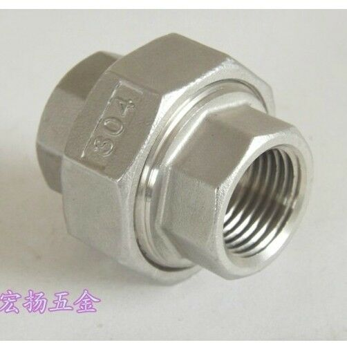 Quot bspp female threaded union swivel adapter stainless