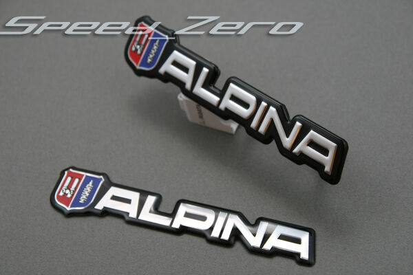bmw alpina hood trunk grill grille emblem badge logo e46. Black Bedroom Furniture Sets. Home Design Ideas