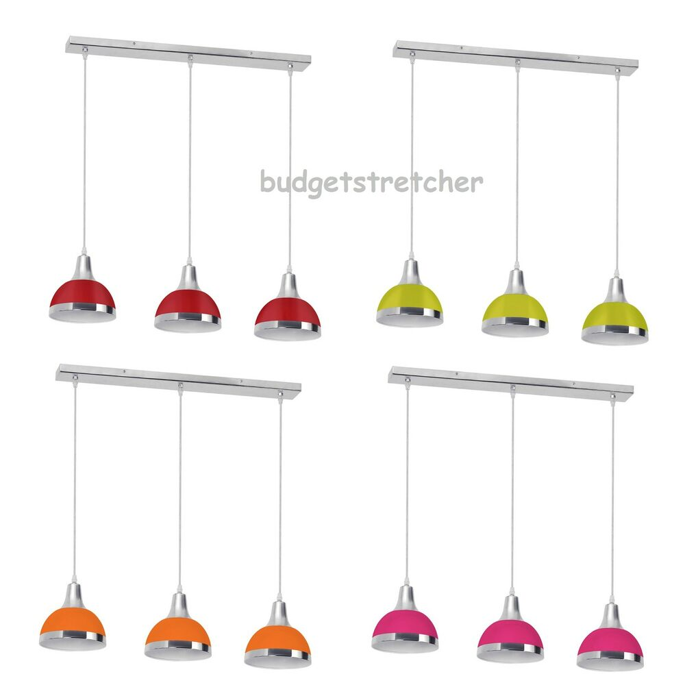 Pendant Lights How Low To Hang : Way bar pendant hanging light chrome effect ceiling