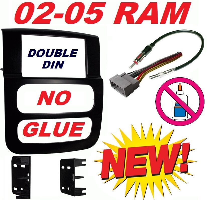 02 03 04 05 dodge ram car stereo radio double din ... 2000 dodge ram stereo wiring diagram 05 dodge ram stereo wiring #6
