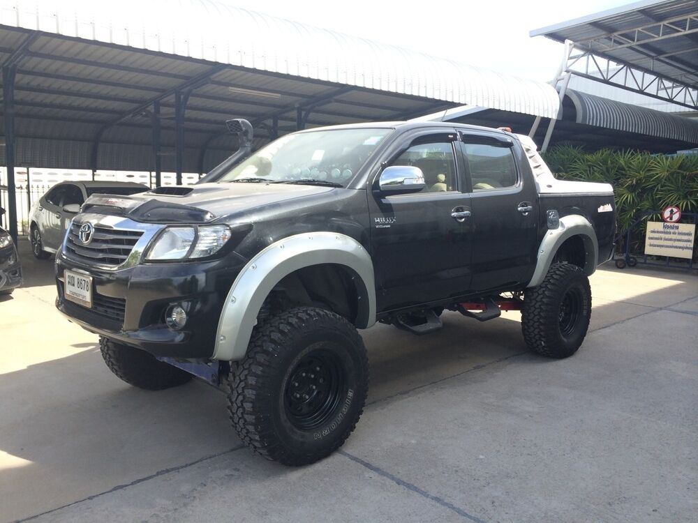 Fender Flares Wide 8 Inch For Toyota Hilux Vigo Champ 2011