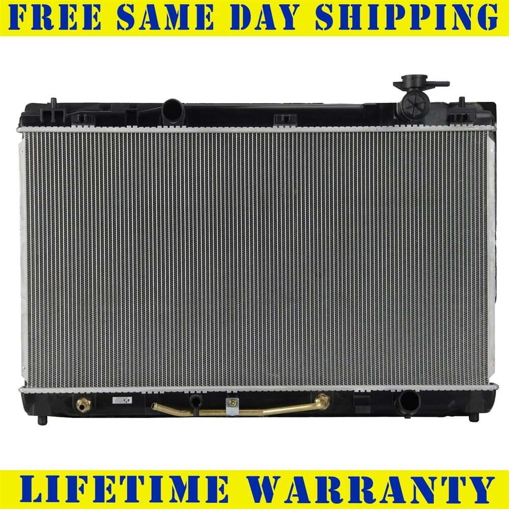 2917 new radiator for toyota fits camry camry hybrid 2 4 2 5 l4 4cyl ebay. Black Bedroom Furniture Sets. Home Design Ideas