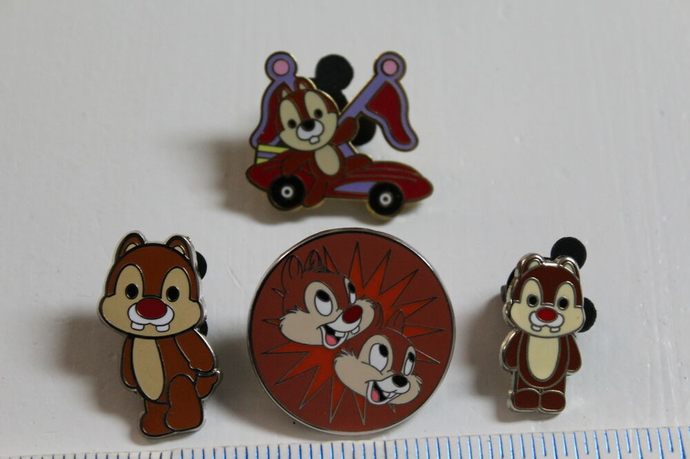 wdw disney lot of 4 chip amp dale pins ebay