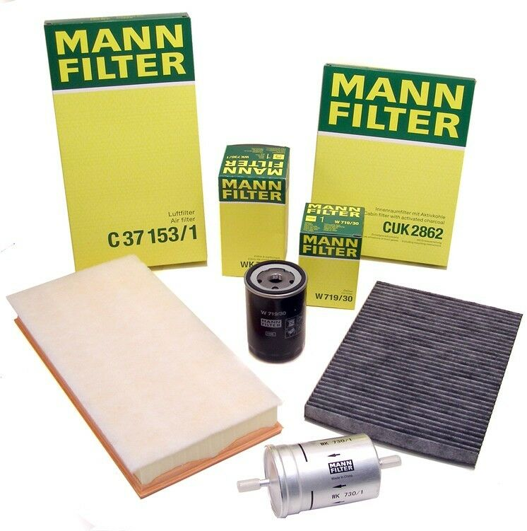 Audi A6 C5 1.9 TDI Genuine MANN Spin On Engine Fuel Filter Service Replacement