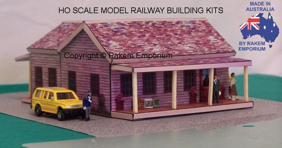 Ho Scale Larger Style Farm House With Optional Rebates