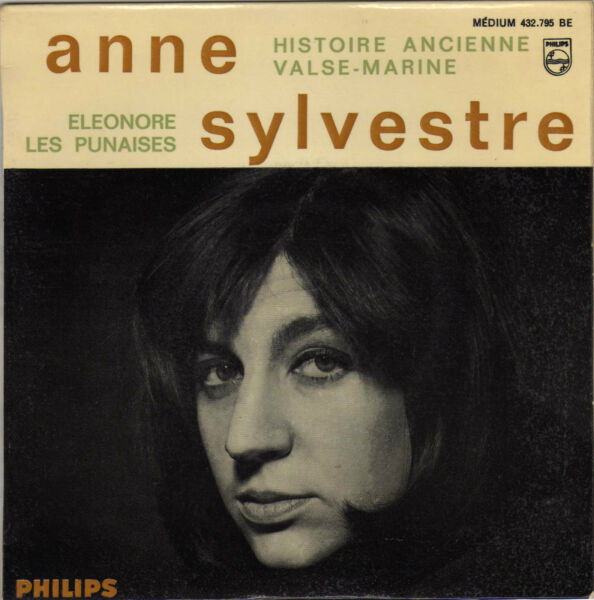 ANNE SYLVESTRE ELEONORE FRENCH ORIG EP