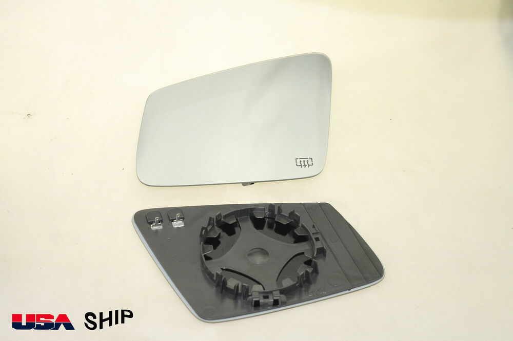 Side mirror glass w holder heated fit for mercedes c180 for Mercedes benz c300 side mirror glass