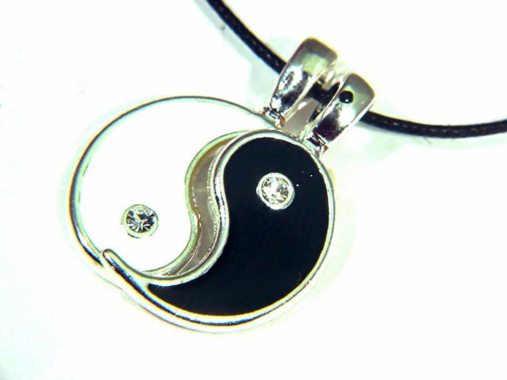 butw yin and yang 2 pewter friendship pendant