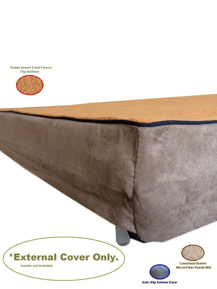 Replacement Gusset MicroFiber Coral Fleece Suede Brown  : s l1000 from www.ebay.com size 750 x 1000 jpeg 68kB