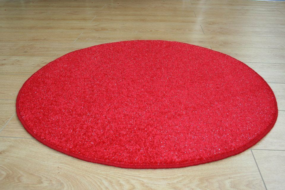Glitter 3ft 4ft 5ft 6ft Circle Rug Oval Sparkle Round
