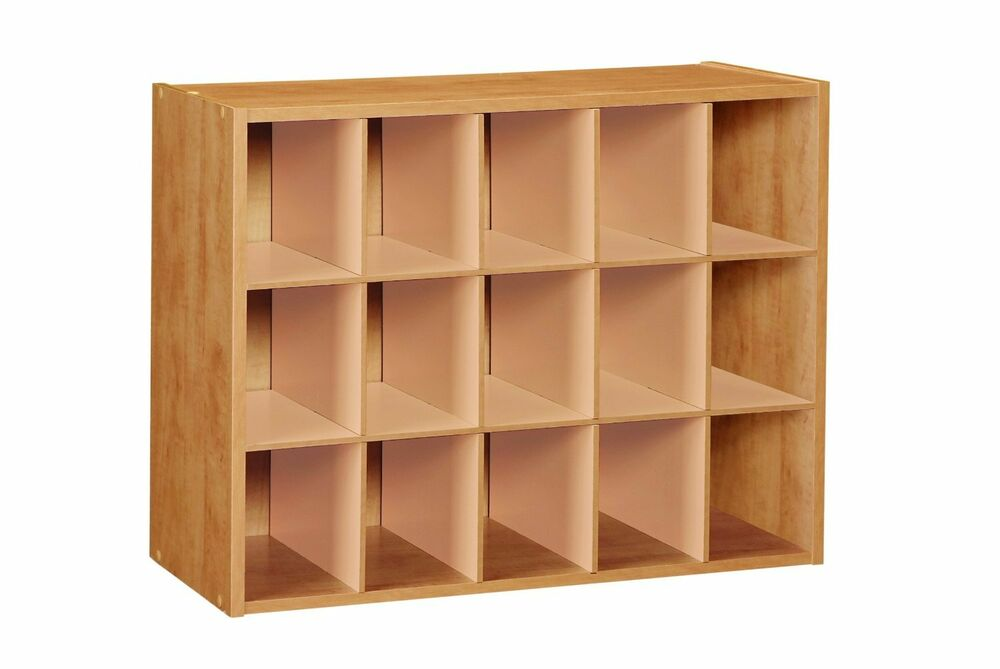 Do It Yourself Home Design: NEW! 15 Pair Laminate Wood Neat Cube SHOE Organizer