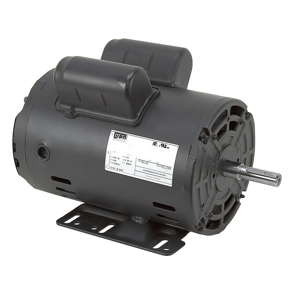 3 Hp 230 Volt Ac 3480 Rpm Weg Air Compressor Motor 10 2620