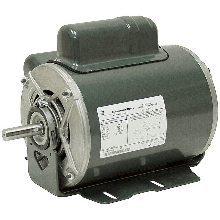 1 2 hp 1140 rpm 230 volt ac general electric motor 10 2826 for 2 rpm electric motor