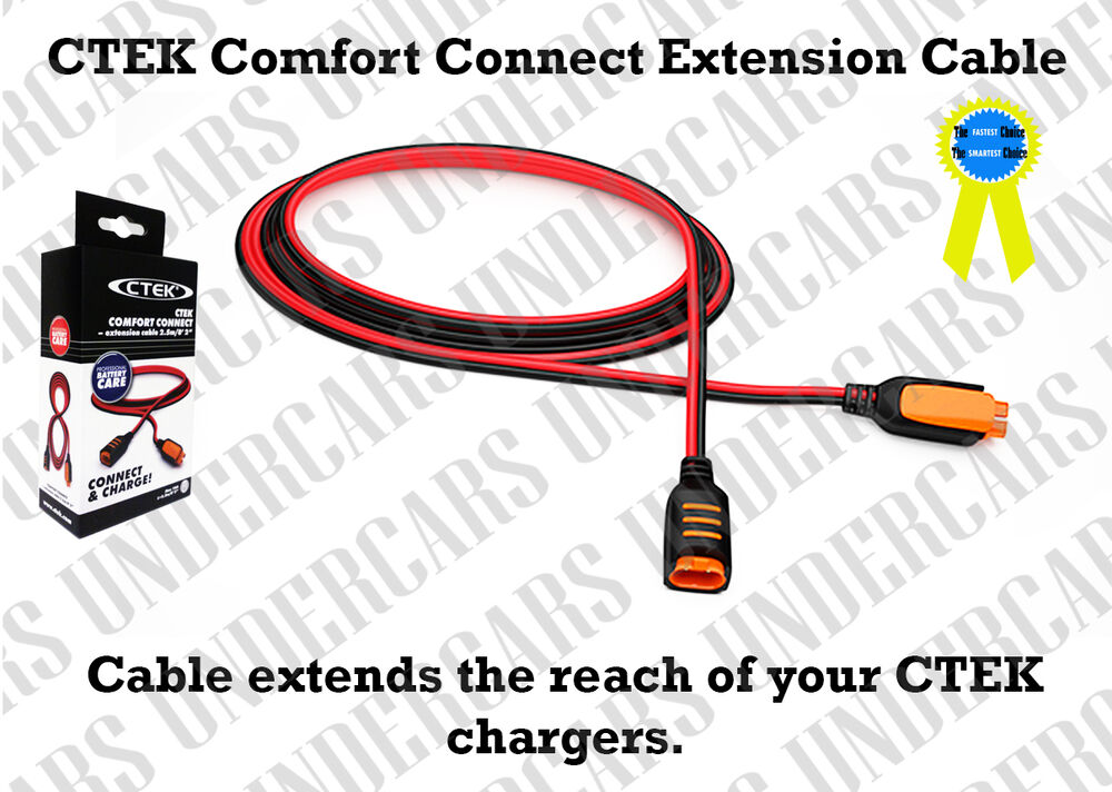 new ctek 56 304 comfort connect extension cable ebay. Black Bedroom Furniture Sets. Home Design Ideas