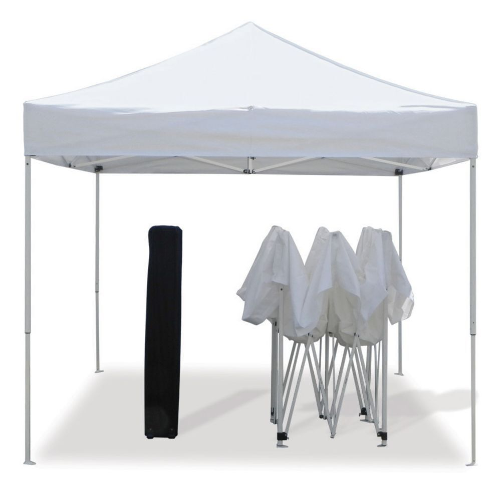 Z shade commercial instant pop up canopy party tent for Stand pliant