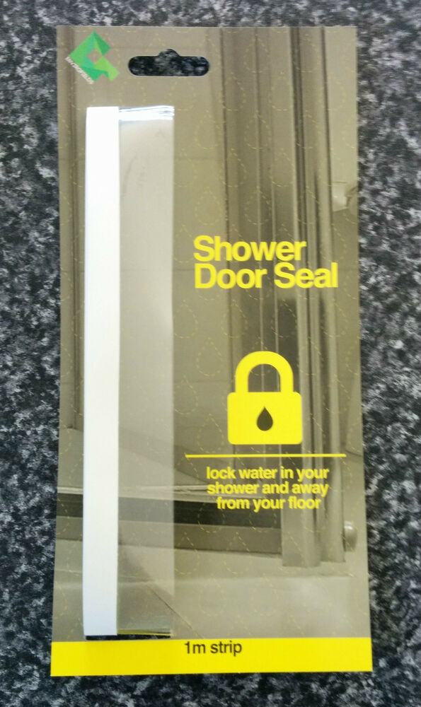 Shower Screen Door Plastic Seal Stop Water Splashing Out