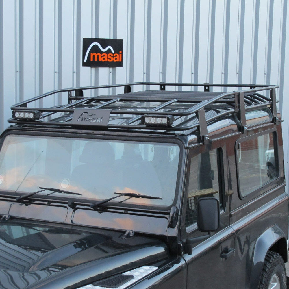 2.15m Tubular Roof Rack For Land Rover Defender 90