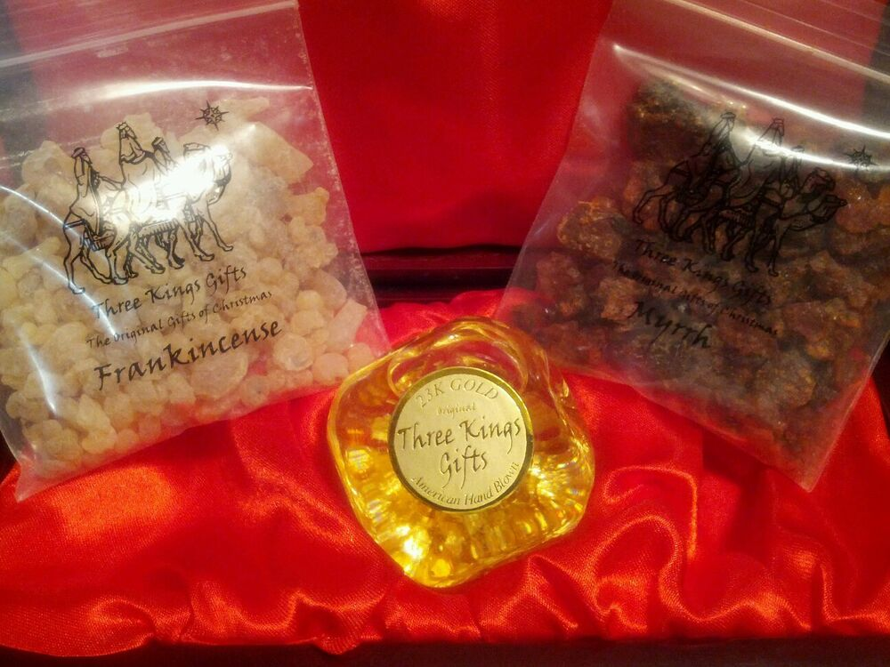 Christmas Gift Set, from Three Kings Gifts, Real 23k Gold ...