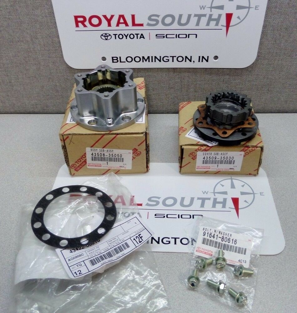 Toyota T100 Pick Up Truck 4runner 4x4 Lock Out Hub Kit Set