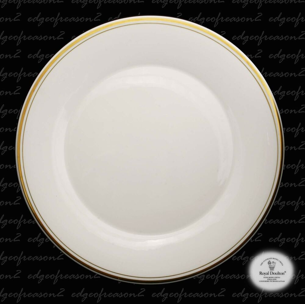 Hotel Collection Plates: ROYAL DOULTON HOTELWARE ULTIMATE HOTEL WARE CHINA LARGE