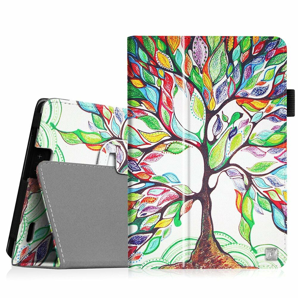 Folio Leather Case Stand Cover For 2013 Kindle Fire HD 7