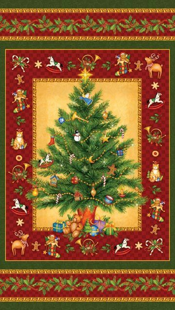 Northcott Christmas Fabric