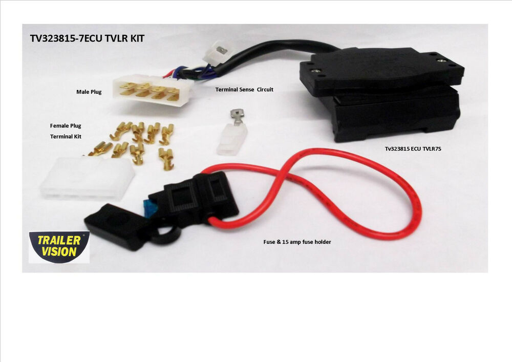 Trailer Wiring Harness Tvlr Toyota Kluger
