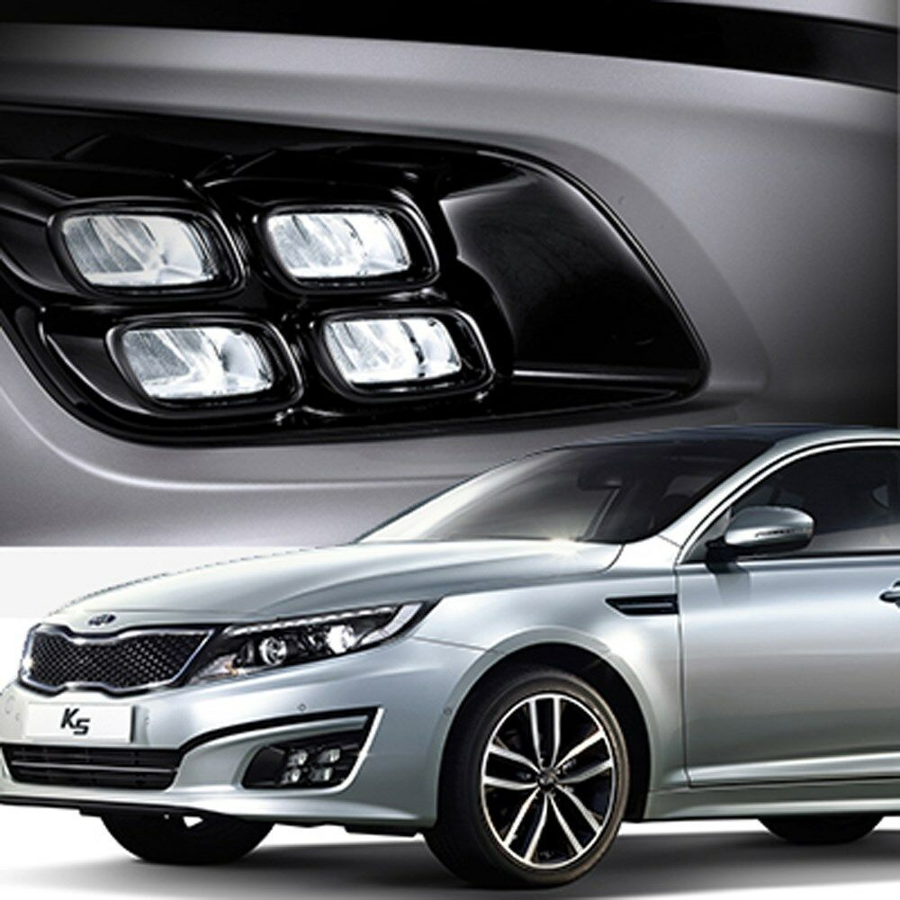 led fog lamp daytime running light drl lights for kia new. Black Bedroom Furniture Sets. Home Design Ideas
