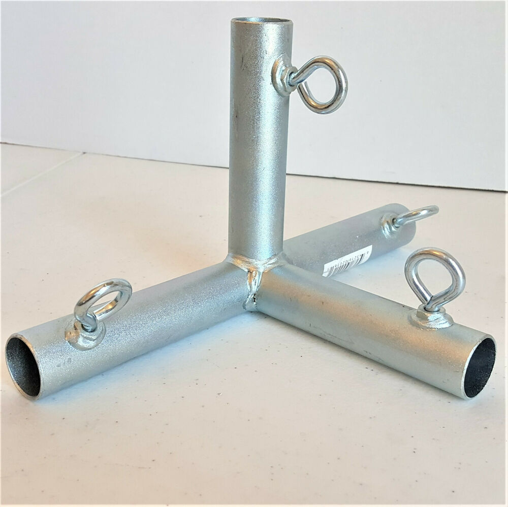 4 Way Flat Edge Fitting F4b 1 Quot Pipe Canopy Parts