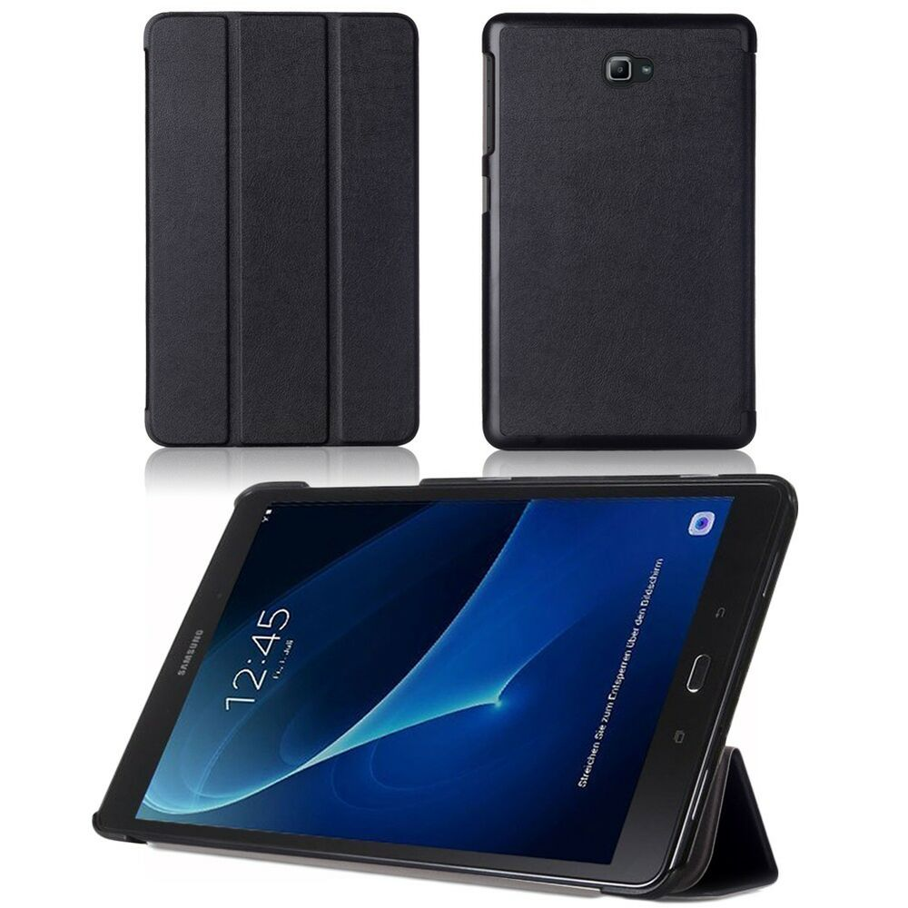 tasche f r samsung galaxy tab a 10 1 h lle slim case cover. Black Bedroom Furniture Sets. Home Design Ideas