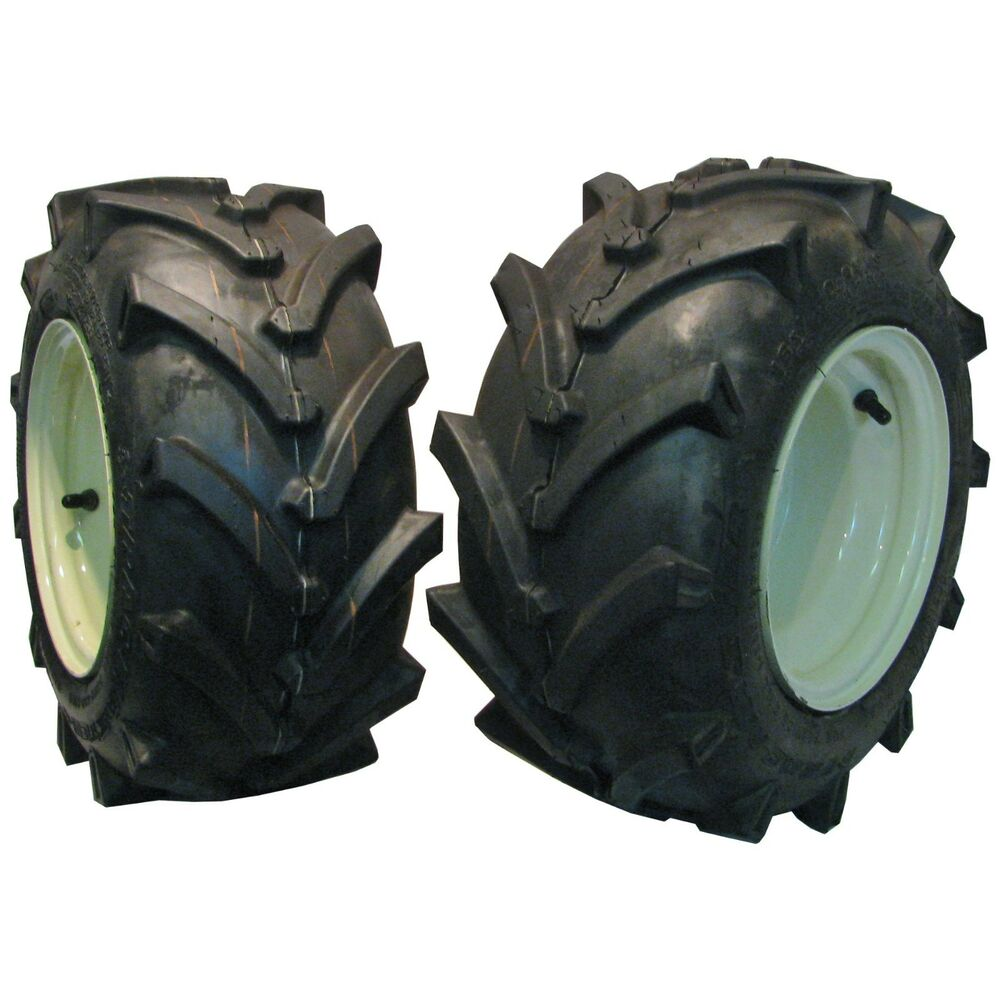 Lawn And Garden Tractor Tires : Tire rim wheel assembly lawn mower garden