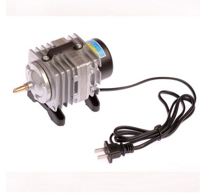 Electromagnetic air pump for aquarium hydroponic pond for Hydroponic air pump