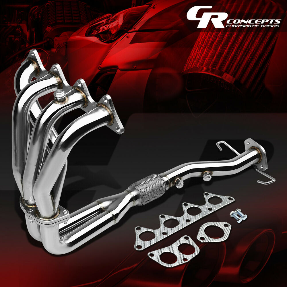 03 Lancer Exhaust Headers: FOR 02-07 LANCER 4G94 STAINLESS EXHAUST MANIFOLD 4-2-1