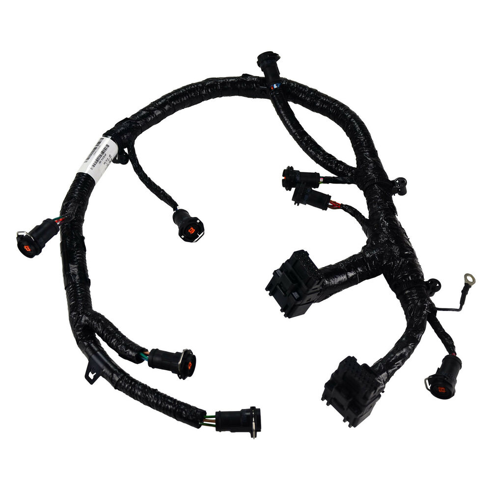 7 3 Powerstroke Engine Wiring Harness 37 Diagram Images Sel S L1000 Oem New 05 07 Ford 6 0l Diesel Fuel Injector Jumper 73