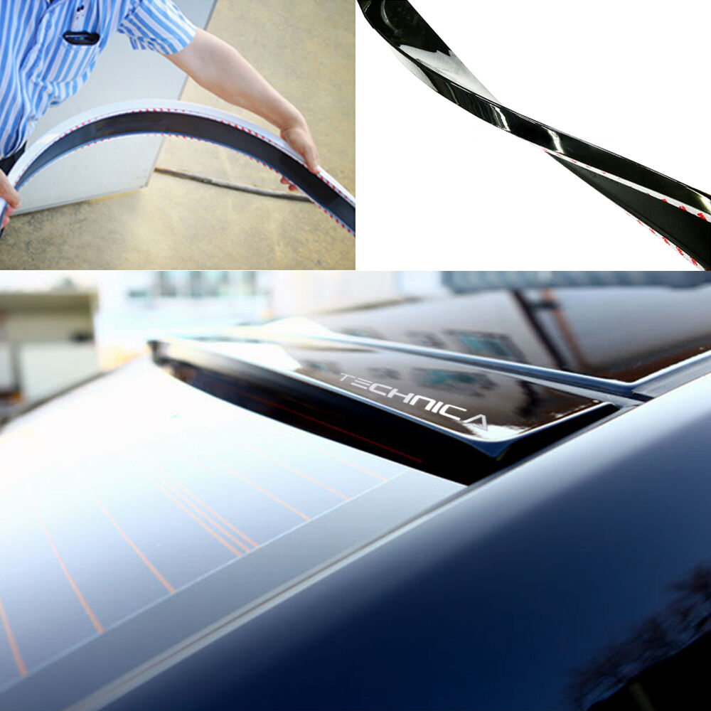 Technica Rear Roof Glass Wing Urethane Spoiler For Hyundai
