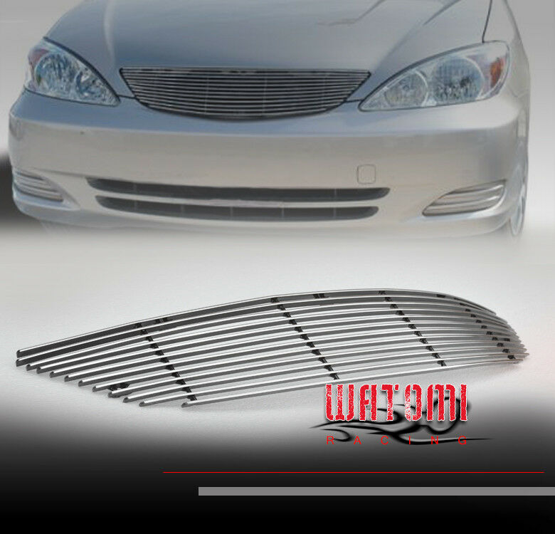 02 06 toyota camry front upper jdm billet grille grill insert 03 04 05 le se xle ebay. Black Bedroom Furniture Sets. Home Design Ideas