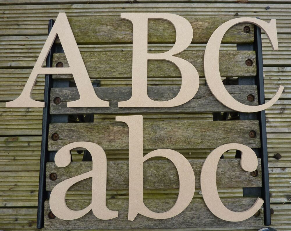 Large Wooden Alphabet Letters 24 Inch Tall E Style Ebay