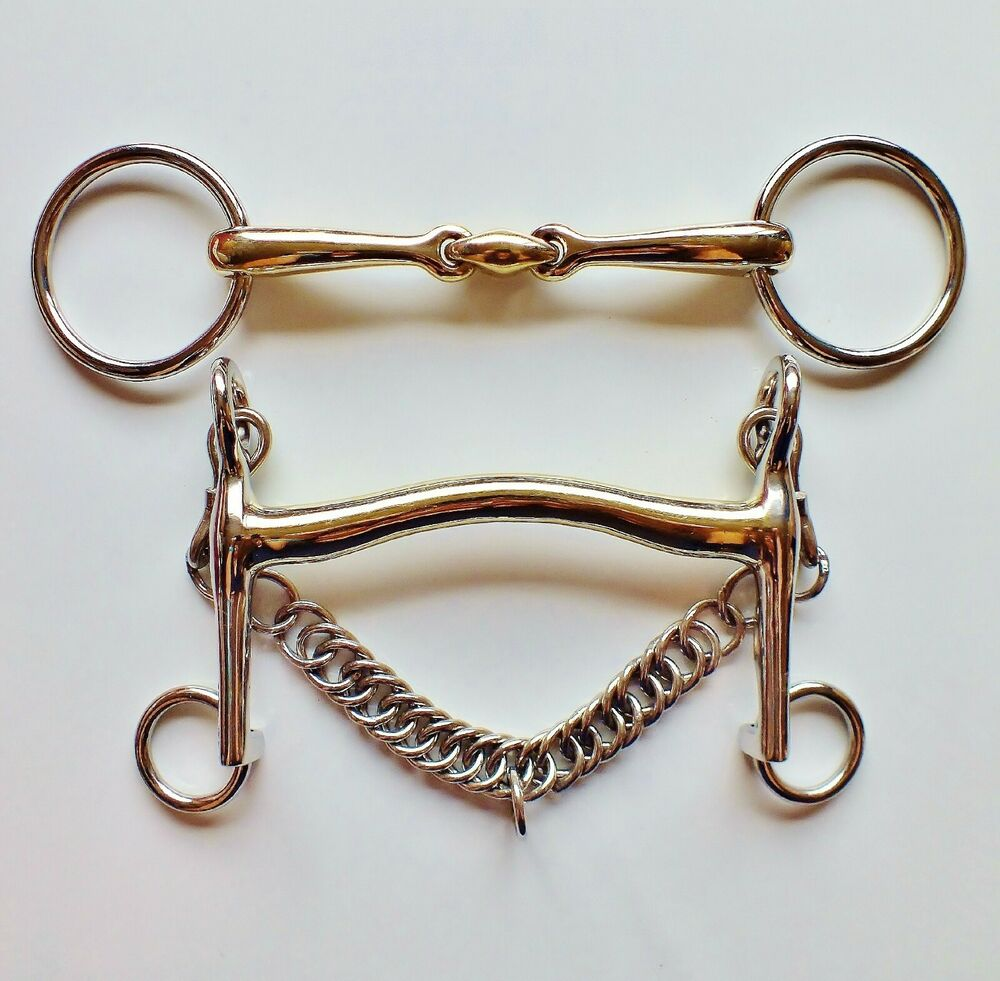 how to set up a double bridle