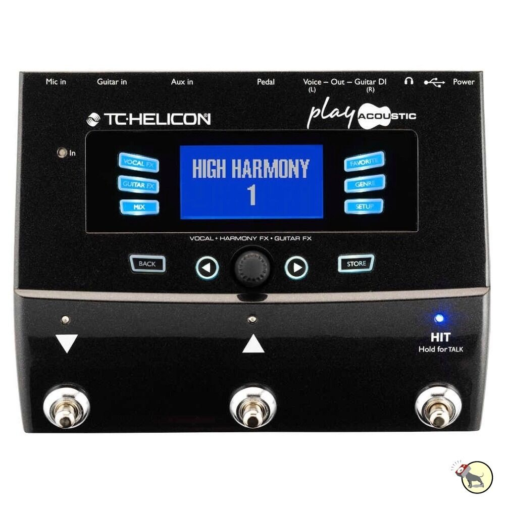 tc helicon play acoustic guitar vocal effects processor looper harmony pedal ebay. Black Bedroom Furniture Sets. Home Design Ideas