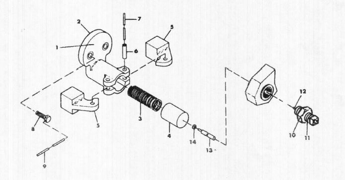 Ingersoll Rand   W114086t30 Centrifugal Unloader Assembly
