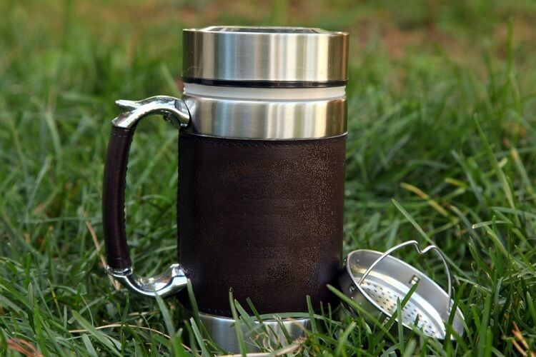 thermo trinkbecher coffee to go becher tee thermobecher kaffee neu suppenthermos ebay. Black Bedroom Furniture Sets. Home Design Ideas