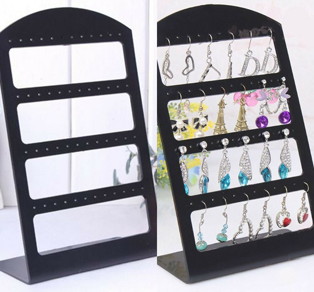 Exhibition Stand Organizer : Pairs organizer plastic retail display black rack stand