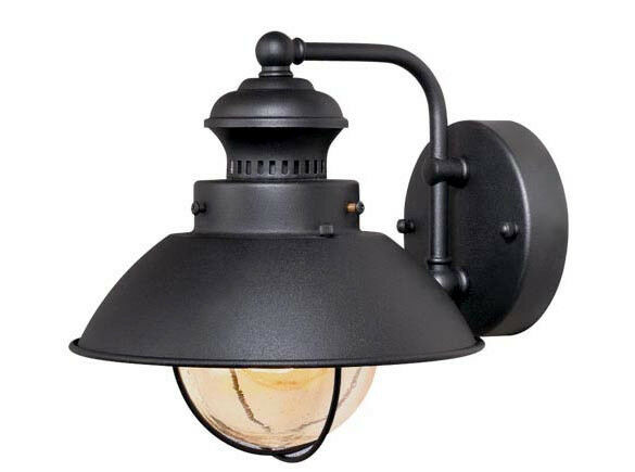 Textured Black Vaxcel Harwich Outdoor Porch 1 Light Wall Sconce Sale OW21581TB