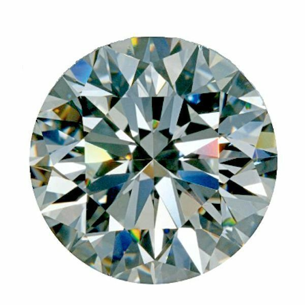 High Quality Super Royal Cubic Zirconia Round Clear Loose