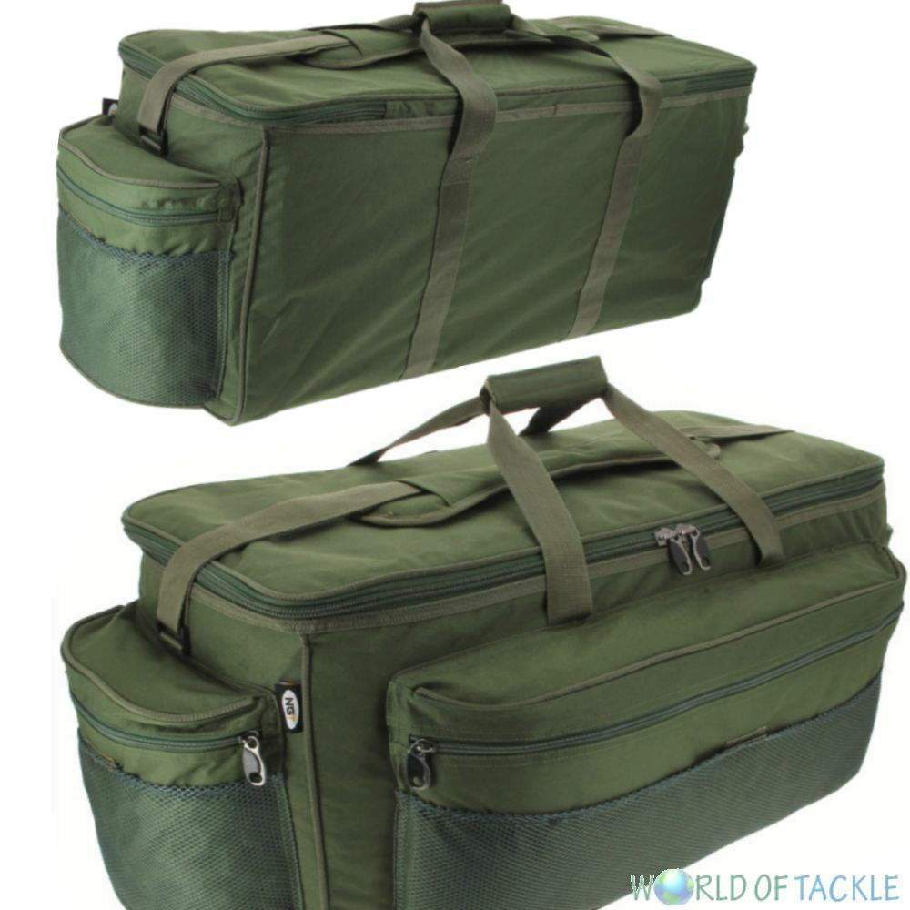 Fishing carryall giant tackle bag holdall extra large carp for Fishing tackle grab bag